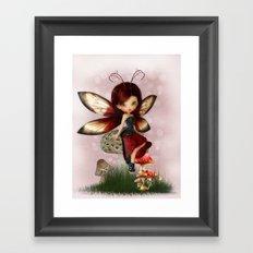 Little Ladybug Framed Art Print