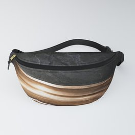 BLACK - BRASS - COLORED - AND - WHITE - PILLAR - PHOTOGRAPHY Fanny Pack