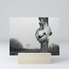 sacrificial ram Mini Art Print