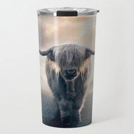 highland cattle scotland Travel Mug