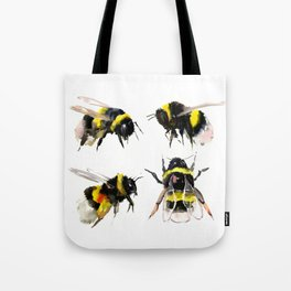 Bumblebee, Bee art, bee design, bees Tote Bag