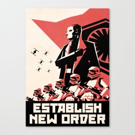 First Order (Hux) Canvas Print
