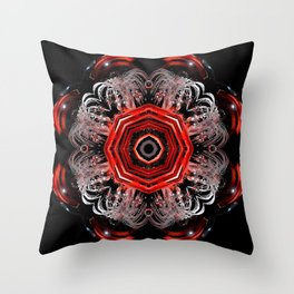 Thru The Looking Glass Throw Pillow
