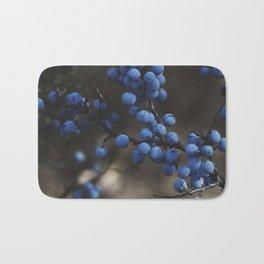 Blueberry Brambles Bath Mat