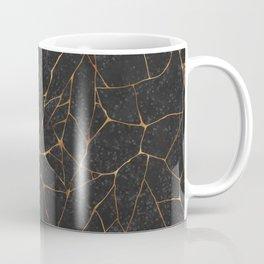 Kintsugi Dark Coffee Mug