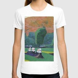 Émile Bernard - Breton Women Attending a Pardon T-shirt