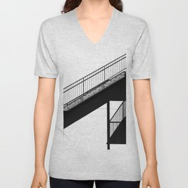 Staircase Unisex V-Neck