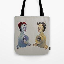 Inner Spaces Tote Bag