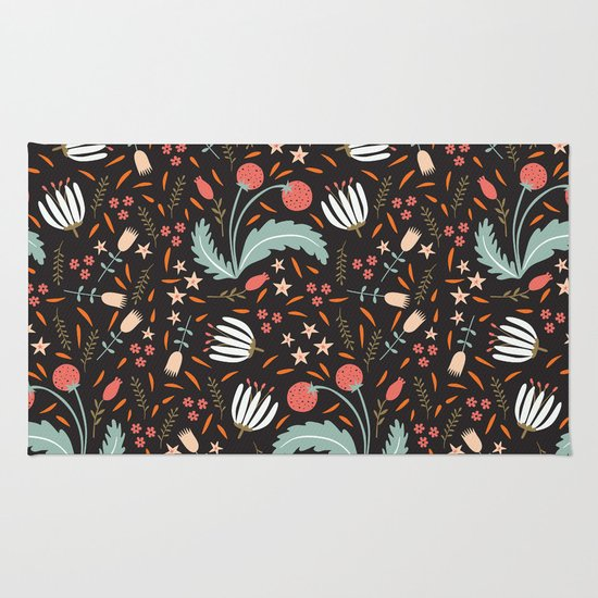 Floral Fusion Rug