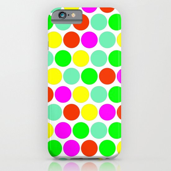 Polka dot, Colors set 2 iPhone & iPod Case