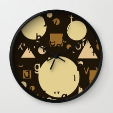 Geometry and equation Wall Clock
