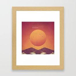 NEW DAWN, NEW DAY Framed Art Print