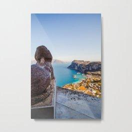 Capri, Anacapri, Villa San Michele, Italy Metal Print