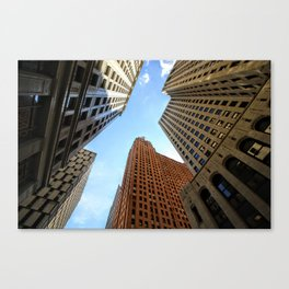 Cathedral of Finance Canvas Print