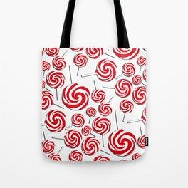 Candy Swirls-Large Tote Bag