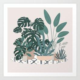 houseplant gang Art Print