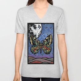 Miraculous Millers Moth, No. 2 Unisex V-Neck