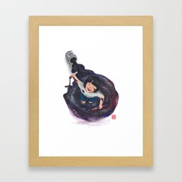 The World's A Playground Framed Art Print