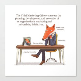The Chief Marketing Officer Canvas Print