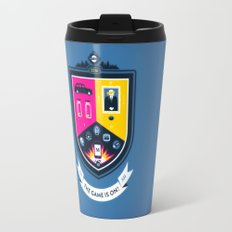 The Game is On! - blue version Travel Mug