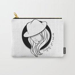 Young girl in a vintage hat Carry-All Pouch