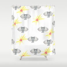 INDIAN WALLPAPER Shower Curtain