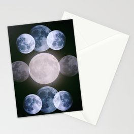 Holy moon Stationery Cards