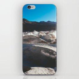 Geysers in the Atacama Desert, Bolivia iPhone Skin
