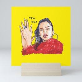 Rosalía TRA, TRA Mini Art Print