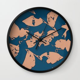 2020 Fall/Winter 12 Navy Wall Clock