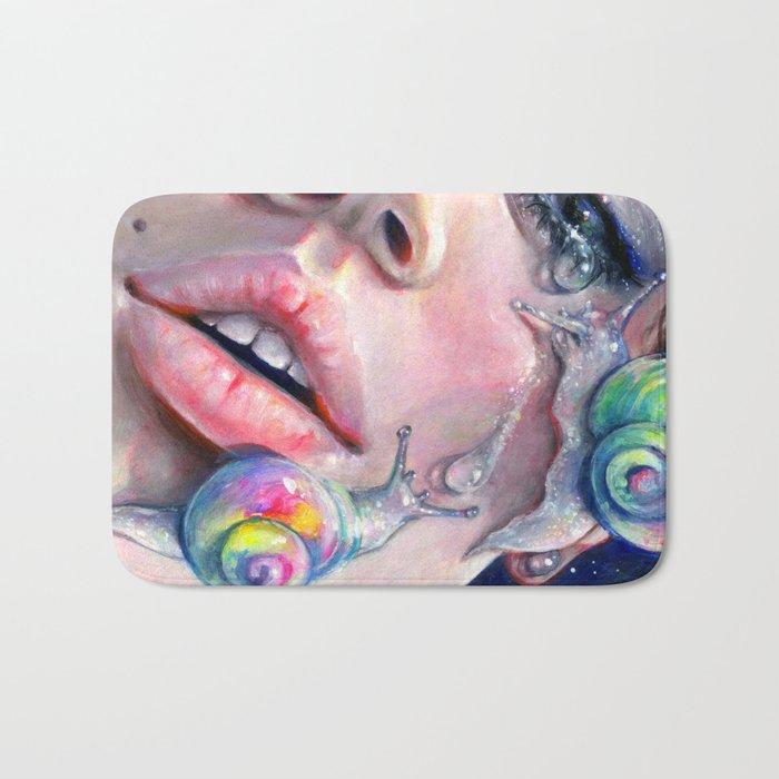 Thirsty Snails Bath Mat