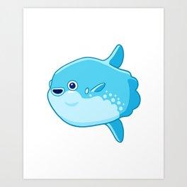 Mola Mola Art Print