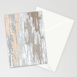 Grey brown Colors Gradient pattern.  light-grey, modern, decor, Society6 Stationery Cards
