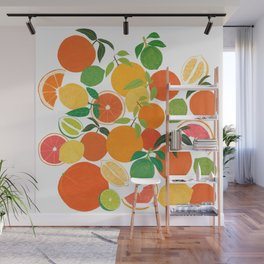 Citrus Harvest Wall Mural