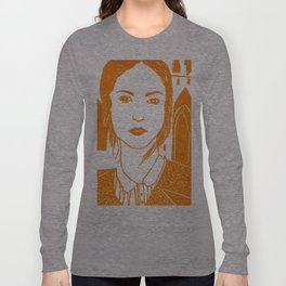 WUTHERING HEIGHTS - LINO (ORANGE VERSION)  Long Sleeve T-shirt