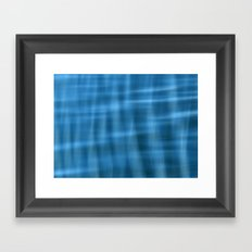 Water Pattern #2 Framed Art Print