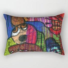 Weary Rectangular Pillow