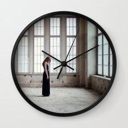 Afraid of Yesterday Wall Clock