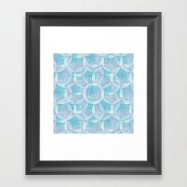 Flower of Life Variation 3 Framed Art Print