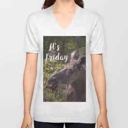 Its Friday Unisex V-Neck