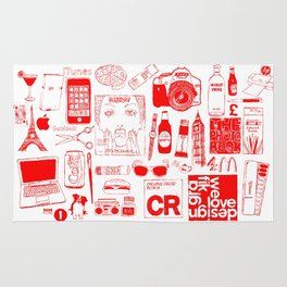 Graphics Design student poster Rug