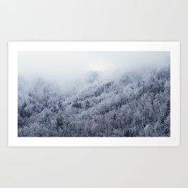 Winter Cometh Art Print