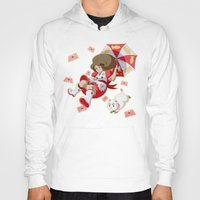 puppycat Hoodies featuring Bee and Puppycat by Artist Meli