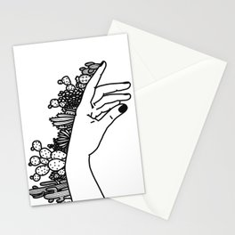 Succi Finger Stationery Cards
