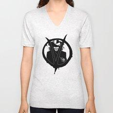 V for Vendetta3 Unisex V-Neck