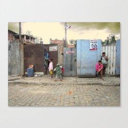 Baleeira Façade (Campos dos Goytacazes, Rio de Janeiro, Brazil)  Canvas Print