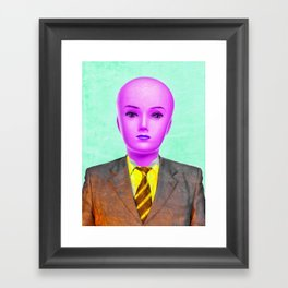 Employee of the Month Framed Art Print