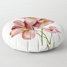 Soft Flowers Floor Pillow