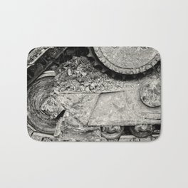Bulldozer Dirt Fest Bath Mat