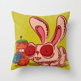 Baby Carrot Throw Pillow